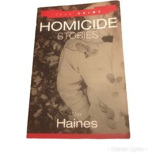 💋3/$30 True Crime Homicide Stories Max Haines
